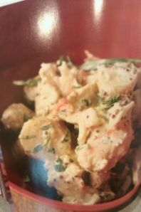 lobster potato salad